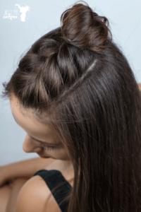 Easy Half Braid Hairstyle Tutorial – Video Hairstyle Tutorial With Most Recently Rope Half Braid Hairstyles (View 8 of 25)