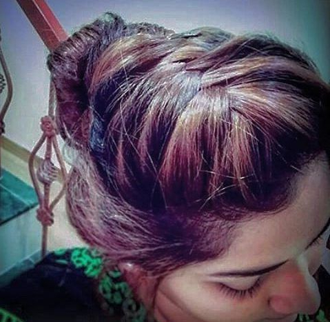 Faux Mohawk Braid For Oiled Hair   Hair Styles, Cool Throughout Best And Newest Pouf Braided Mohawk Hairstyles (View 23 of 25)