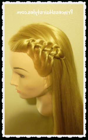 Flip Knot Braid Hairstyle   Hairstyles For Girls Within Recent Knotted Braided Updo Hairstyles (View 21 of 25)