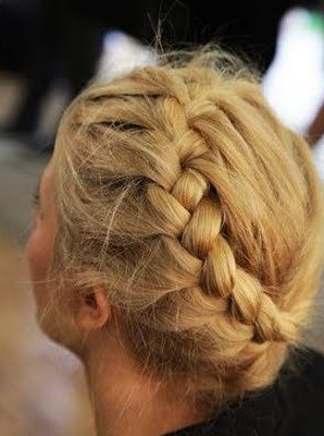 Featured Photo of Defined French Braid Hairstyles