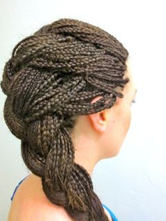 French Braided Micro Braids Picture (View 4 of 25)