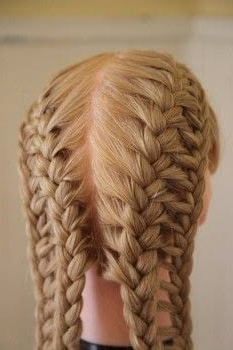 French Ladder Braid Tutorial · How To Style A French Braid With Regard To Current Defined French Braid Hairstyles (View 18 of 25)