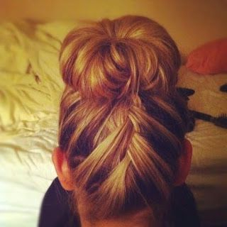 Ginger Murphy: Twists & Turns   Hair, Hair Flip, Braided With Most Recently Braided Top Knot Hairstyles (View 9 of 25)