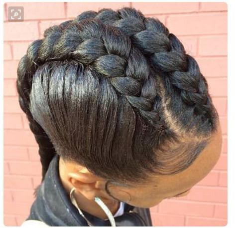 Goddess Braids 4 | Goddess Braids Hairstyles, Natural For 2020 Greek Goddess Braid Hairstyles (View 5 of 25)