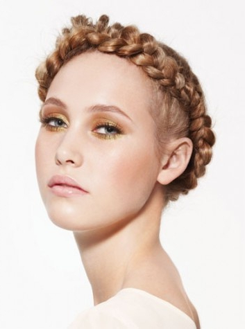 Greco Roman Meets Teutonic Norse Goddess | Braided With Most Up To Date Greek Goddess Braid Hairstyles (View 13 of 25)
