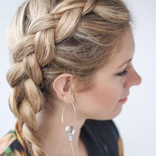 Hairstyle Tutorials – Braid Tutorials – Hair How Tos Throughout Recent Dutch Heart Braid Hairstyles (View 4 of 25)