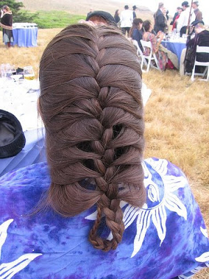 Hairstyles Art: French Braids Hairstyle Inside Most Popular Defined French Braid Hairstyles (View 11 of 25)