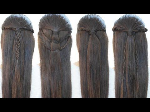 Hairstyles With Rope Braids – Youtube | Peinados Rápidos With Regard To Most Popular Rope And Braid Hairstyles (View 23 of 25)