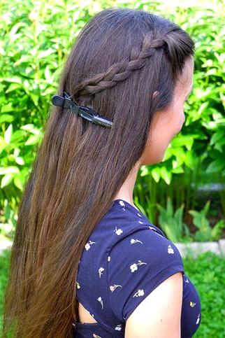 Featured Photo of Rope Half Braid Hairstyles