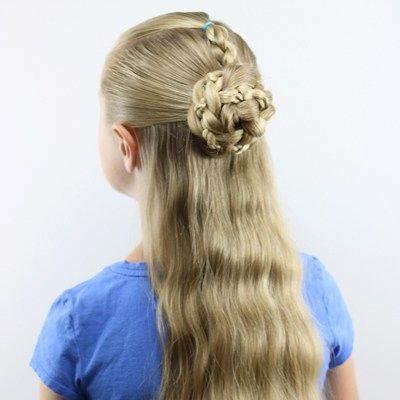 Half Up Braids And Bun | Hair Styles, Twisted Updo, Braids With Regard To Most Up To Date Rope Half Braid Hairstyles (View 3 of 25)