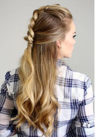 Half Up Mohawk Dutch Braid | Hair Styles For 2020 Quad Dutch Braids Hairstyles (View 15 of 25)