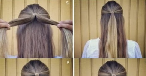 Half Up Rose Braided Bun Hairstyle Tutorial ~ Calgary With Regard To Most Up To Date Double Rose Braids Hairstyles (View 22 of 25)