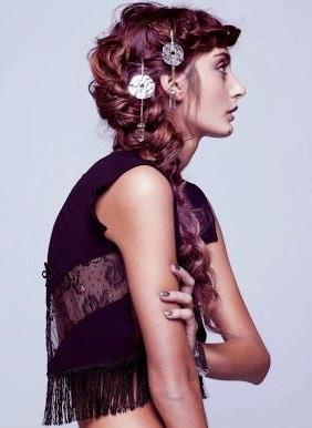 Hippi Saç Modelleri #Hippie #Hairstyle #Braid Http://Issuu With Recent Hippie Braid Headband Hairstyles (View 17 of 25)