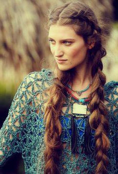 How To Bohemian Braid Your Hair Inside Recent Boho Braided Half Do Hairstyles (View 13 of 25)