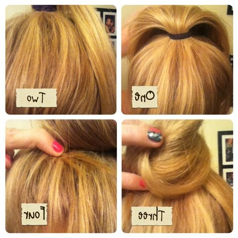 How To: Braided Top Knot | Braided Top Knots, Braided Pertaining To Most Up To Date Rope Half Braid Hairstyles (View 17 of 25)