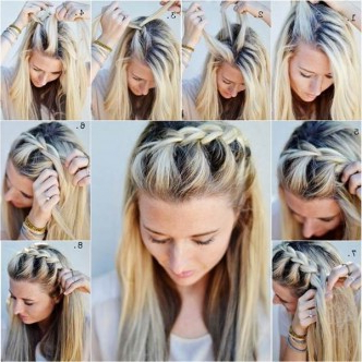 How To Diy Half Up Side French Braid Hairstyle For Newest Pancaked Side Braid Hairstyles (View 23 of 25)