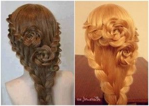 How To Diy Pretty Rose Braids Hairstyle Regarding Most Popular Double Rose Braids Hairstyles (View 17 of 25)
