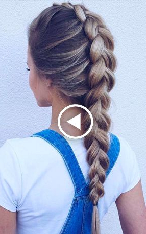 How To Dutch Braid Video Tutorials & Fab Hairstyles | Hair Pertaining To Most Current Dutch Heart Braid Hairstyles (View 8 of 25)