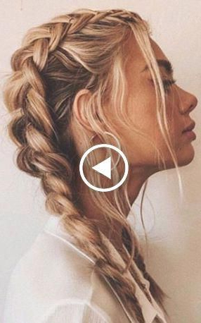 How To Dutch Braid Video Tutorials & Fab Hairstyles # Pertaining To Most Up To Date Quad Dutch Braids Hairstyles (View 12 of 25)