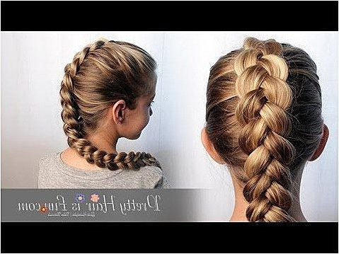 How To: Easy Pulled Dutch Braid Tutorial| Pretty Hair Is In Most Current Quad Dutch Braids Hairstyles (View 19 of 25)