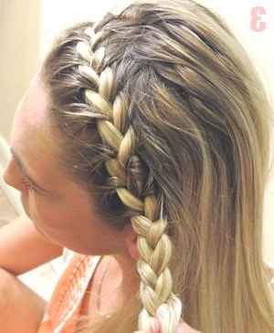 How To Get A Boho Chic Headband (With Images)   Braided Within Most Recently Hippie Braid Headband Hairstyles (View 7 of 25)