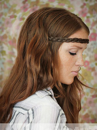 How To The Hippie Headband Tutorial   Landrys Lifestyles Blog Pertaining To Current Hippie Braid Headband Hairstyles (View 20 of 25)