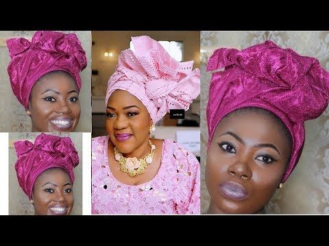 How To Tie Take A Bow Geleyourself – Headgear (Diy Within Most Recently Head Wrap Braid Hairstyles (View 22 of 25)