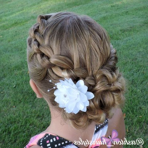 I Love This Beautiful Knotted Updo (View 13 of 25)