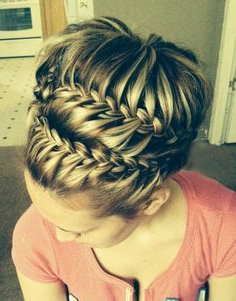Image Result For French Braid Crown With Bun   Hair Styles With Regard To Most Current Braided Crown Rose Hairstyles (View 23 of 25)