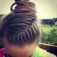 Image Result For Rose Mauve Hair Color | Volleyball Throughout Most Popular Rolled Roses Braids Hairstyles (View 13 of 25)