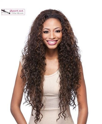 It'S A Wig Synthetic Half Wig Vantage | Half Wigs, Loose Regarding Latest Loose Highlighted Half Do Hairstyles (View 15 of 25)