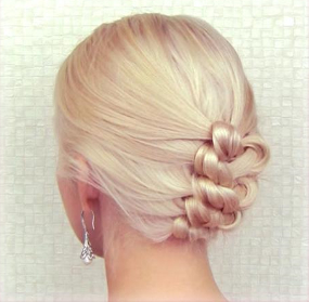 Knotted Braid Updo   Hair Styles, Hair Knot, Wedding Hair Up Regarding Most Popular Knotted Braided Updo Hairstyles (View 12 of 25)