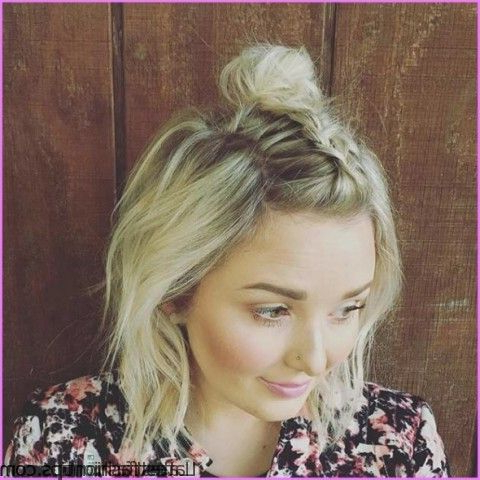 Knotted Messy Side Braid Hairstyles – Latestfashiontips Regarding Newest Messy Twisted Braid Hairstyles (View 7 of 25)