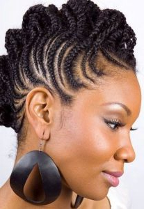 Latest Braided Mohawk Hairstyles And Updos For Most Recent Pouf Braided Mohawk Hairstyles (View 13 of 25)