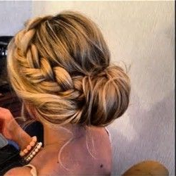 Loose Braid Hairstyles – Party Low Bun Wedding Hairstyles Pertaining To Most Recent Loose Historical Braid Hairstyles (View 16 of 25)