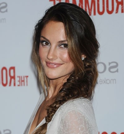 Loose Fish Tail Braid   Minka Kelly, Pretty Braids, Hair With Regard To Recent Loose Historical Braid Hairstyles (View 15 of 25)