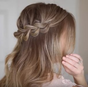 Master This Easy Half Up Bohemian Braided Hairstyle   Beauty Throughout Recent Boho Braided Half Do Hairstyles (View 18 of 25)