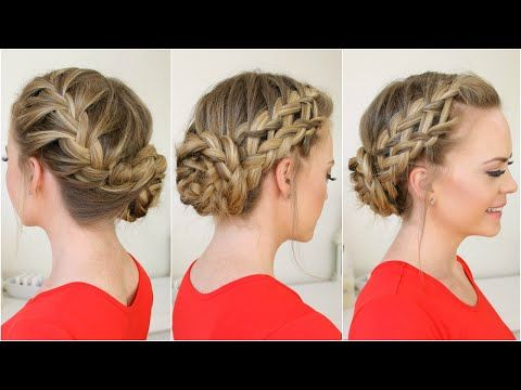 Mohawk Braid Top Knot Hair Tutorial In 2020   Long Hair With Newest Knotted Braided Updo Hairstyles (View 25 of 25)