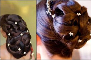 Most Beautiful South Indian Wedding Hairstyles For Long In Newest Folded Braided Updo Hairstyles (View 18 of 25)