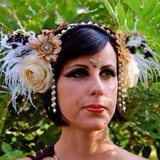 Multi Media Headband   Flower Headdress, Comfortable Regarding 2020 Hippie Braid Headband Hairstyles (View 15 of 25)