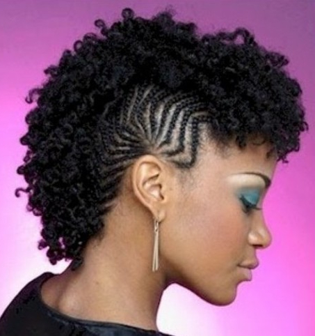 Natural Hair Mohawk Hairstyles 2014   Hairstyles 2017 With Latest Pouf Braided Mohawk Hairstyles (View 2 of 25)