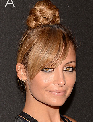 Nicole Richie'S Braided Top Knot (With Images In Current Braided Top Knot Hairstyles (View 10 of 25)