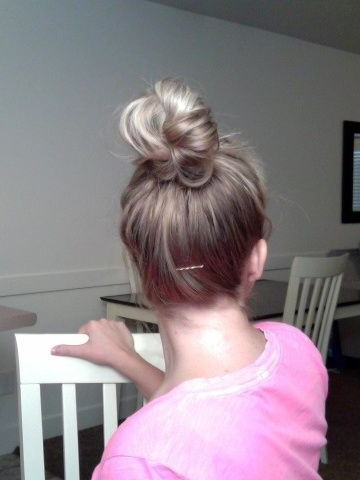 Perfect Top Knot – Hair   Top Knot Hairstyles, French In Most Up To Date Braided Top Knot Hairstyles (View 5 of 25)