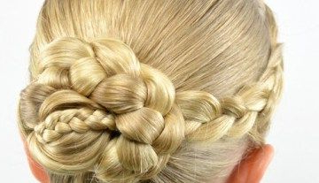 Pin On Back To School Frases Within Most Up To Date Light Pink Semi Crown Braid Hairstyles (View 14 of 25)