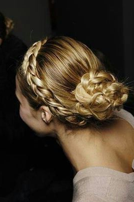 Pinginny Beverly On Trending Hair ? | Braided Intended For Best And Newest Rolled Roses Braids Hairstyles (View 2 of 25)