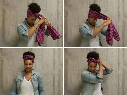 Pinthabo Mauku On Doek (With Images) | Scarf With Regard To Most Up To Date Head Wrap Braid Hairstyles (View 11 of 25)