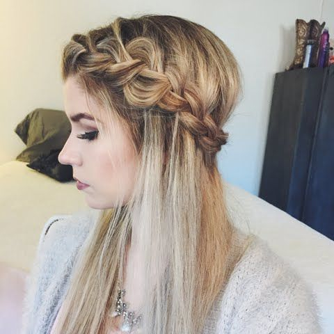 Put On This Braided Crownwatching Ashley W (View 3 of 25)