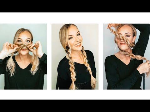Rope Braids! – Youtube | Easy Hairstyles, Casual With Latest Rope And Braid Hairstyles (View 16 of 25)