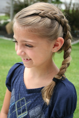 Same Side Dutch Braid   Cute Hairstyles – Cute Girls With Regard To Newest Pancaked Side Braid Hairstyles (View 20 of 25)