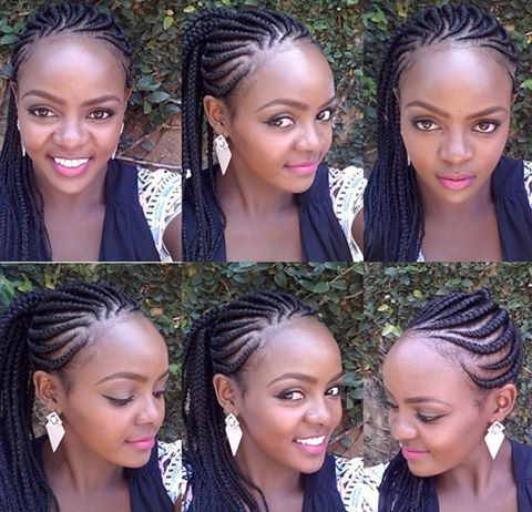 Scalp Braids   Box Braids Styling, Scalp Braids With Regard To Best And Newest Pancaked Side Braid Hairstyles (View 12 of 25)